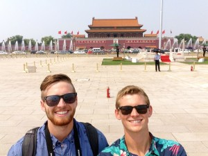 The pinnacle of my trip. Exploring and learning about China with my brother.