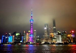 Visiting the Bund Shanghai