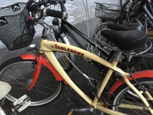 You know you are in Switzerland when the bikes start to look like this.