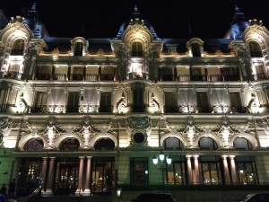 The Hotel de Paris Monte-Carlo (one of the premier hotels in the world).