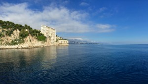 Perhaps the most amazing building in Monaco, the oceanographic museum.  It must have the best view of any museum in the whole world (the header image is the view from the cliff adjacent).