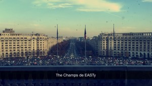 It's similar to the Champs-Élysées (because it was modeled after it) but the main street in Bucharest has a much more Eastern vibe.