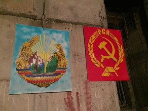 Diagrams of the two current political parties in Bucharest (if I remember correctly).