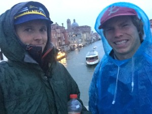 The weather was not always great in Venice and one day I got about the coldest / wettest weather I have had in months.