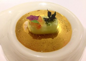 Gaggan. The food was as beautiful as it was delicious.