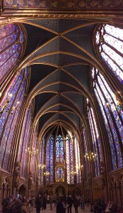 Inside Sainte-Chapelle. One of the most beautiful rooms I have ever been in.