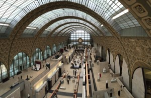 Inside Musée d'Orsay, what an amazing renovation.