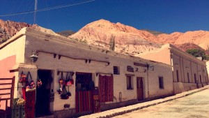 The beautiful town of Purmamarca, Argentina (near Bolivia).